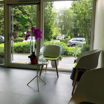 Sitzecke im Körpercampus Göttingen