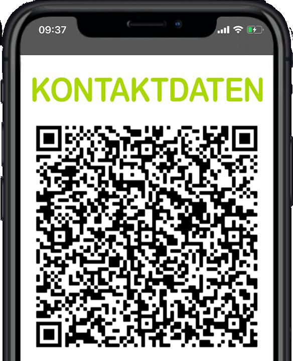 QR-Code der Kontaktdaten vom Körpercampus Physiotherapie in Göttingen
